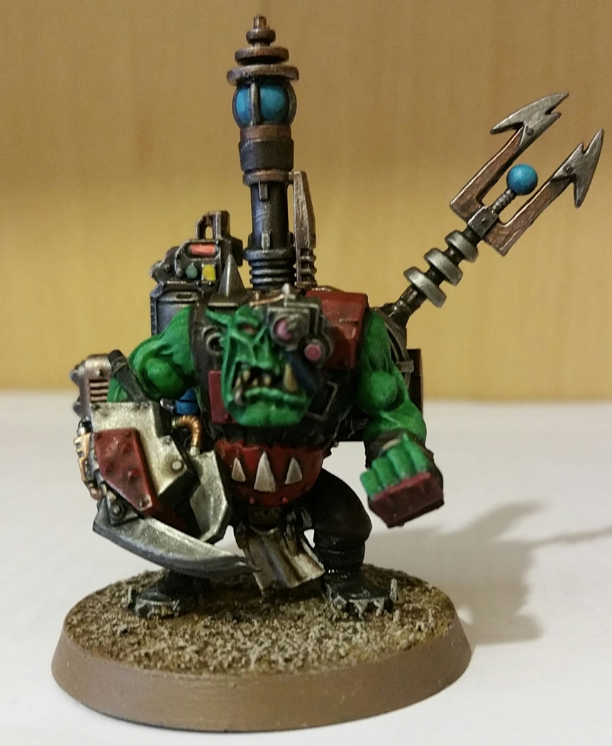 A Painted Model!