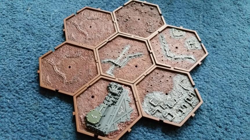 Planetary Empires Forge World Mars