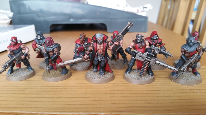 Crimson Slaughter chaos cultists tetchvar