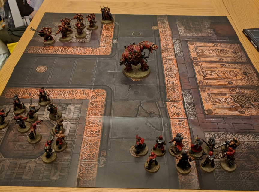 Battle Report – Rampage (Does it 8th?)