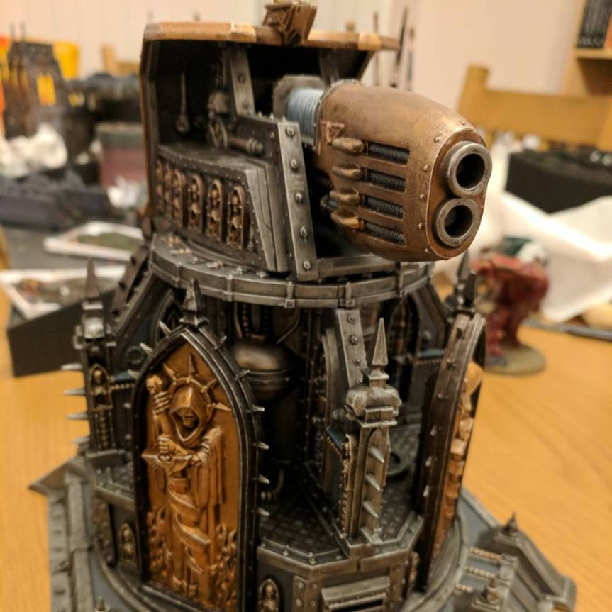 Scenery Showcase – Plasma Obliterator Tower