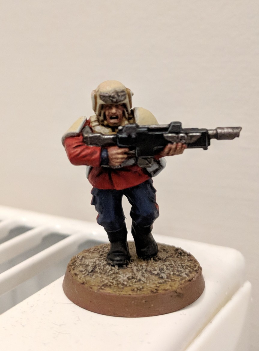 Praetorian Imperial Guard Colour Scheme Test Model