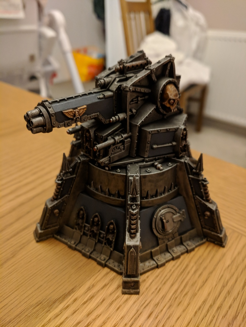 Project Update – Bastion and Vengeance Weapon Battery