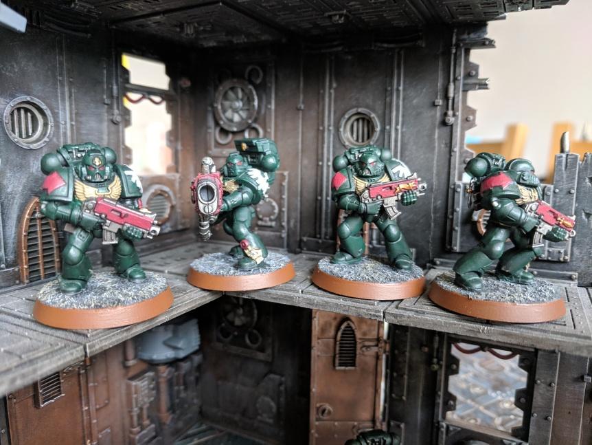Squad Raphael Dark Angels Dark Vengeance