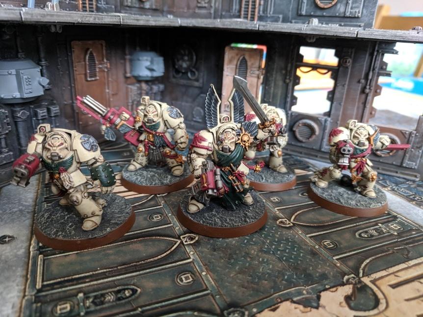 Deathwing Terminator Squad Barachiel Dark Angels Dark Vengeance
