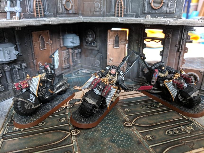 Ravenwing Bike Squadron Arion Dark Angels Dark Vengeance