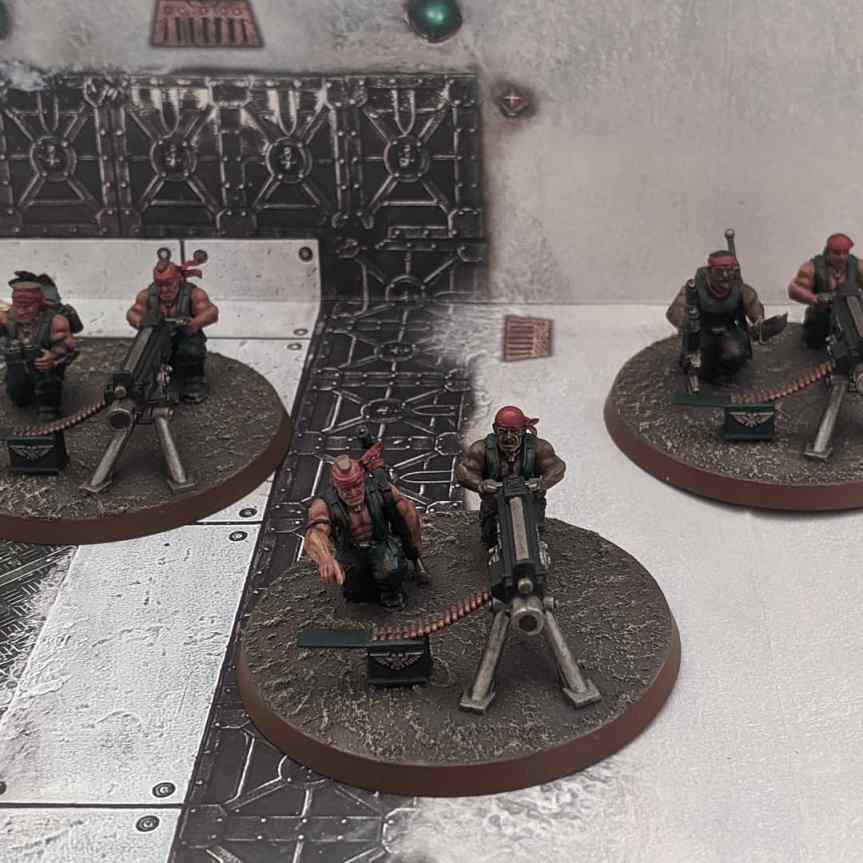 Catachan Jungle Fighters – Heavy WeaponsTeams