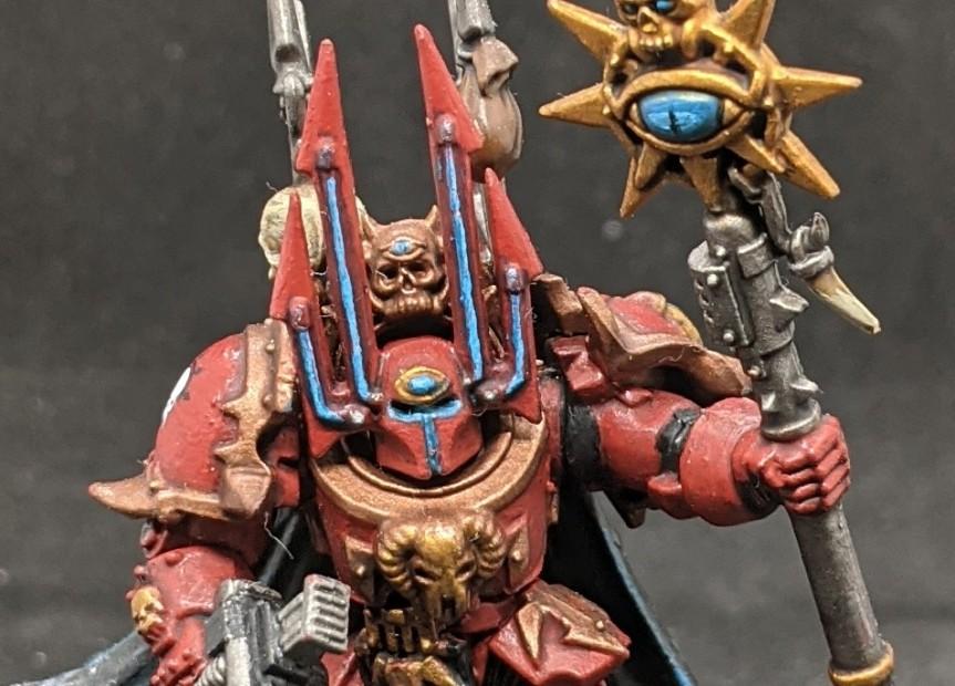 Crimson Slaughter Sorcerer Lord in TerminatorArmour
